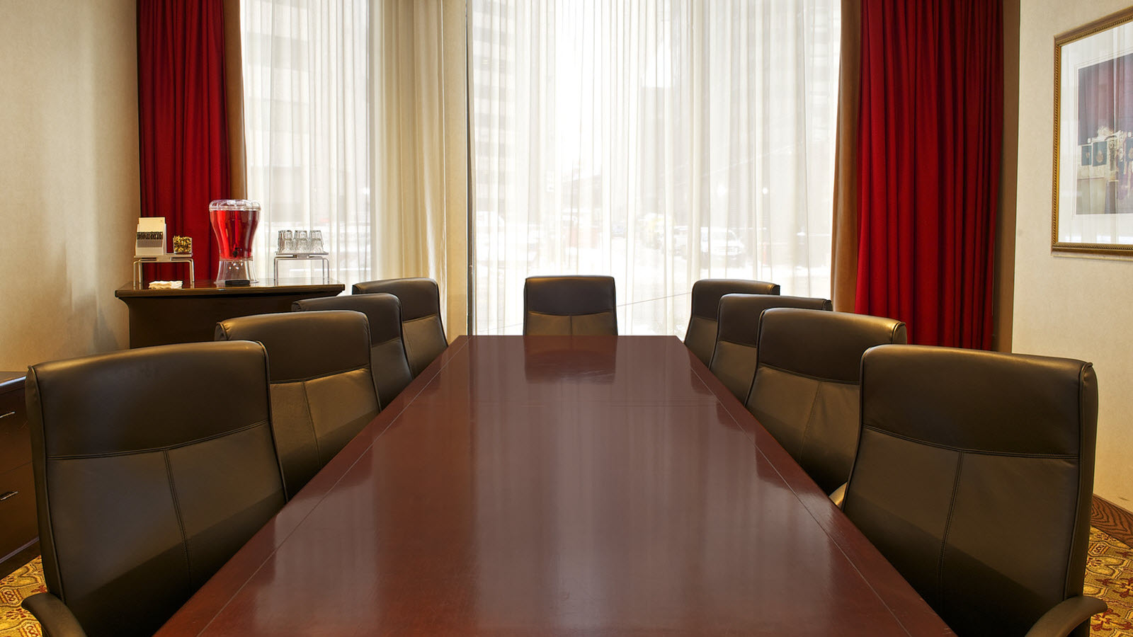 Boardroom for Indianapolis Meetings