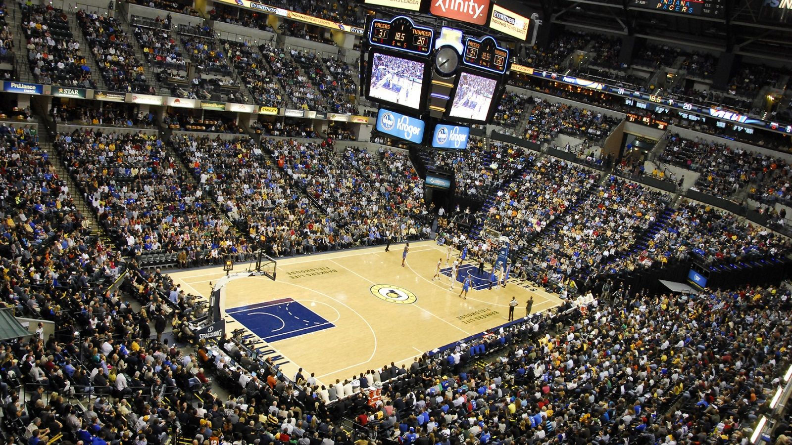 Things to do in Indianapolis - Bankers Life Fieldhouse