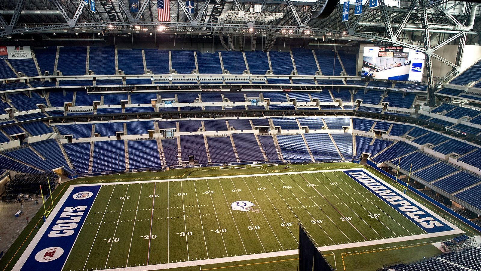 Things to do in Indianapolis - Lucas Oil Stadium